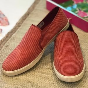 Toms Spice Clemente Corduroy Slip On Sneakers
